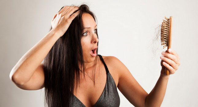 caida del cabello mujeres